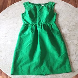 JCREW Green Dress sz 2
